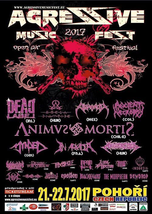AGRESSIVE MUSIC FEST 2017 plakatyzdarma.cz