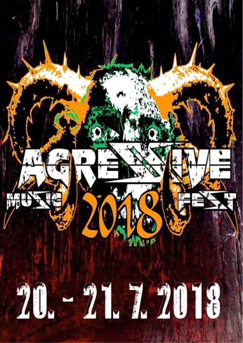 AGRESSIVE MUSIC FEST 2018 plakatyzdarma.cz