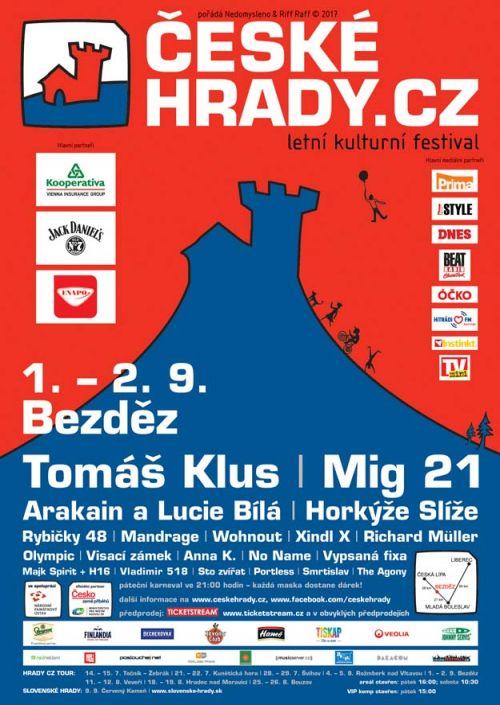 BEZDĚZ HRADY CZ 2017 plakatyzdarma.cz