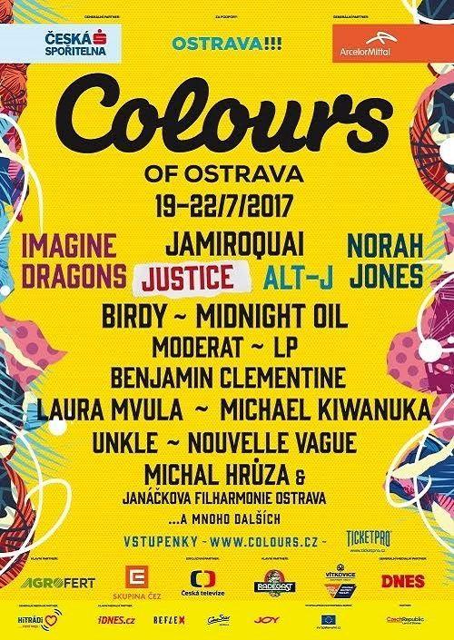 COLOURS OF OSTRAVA 2017 plakatyzdarma.cz