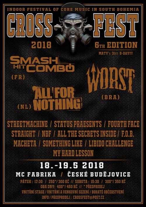 CROSS FEST 2018 plakatyzdarma.cz