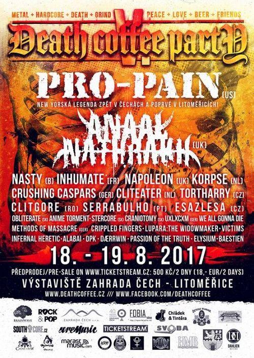 DEATH COFFEE PÁRTY 5. plakatyzdarma.cz