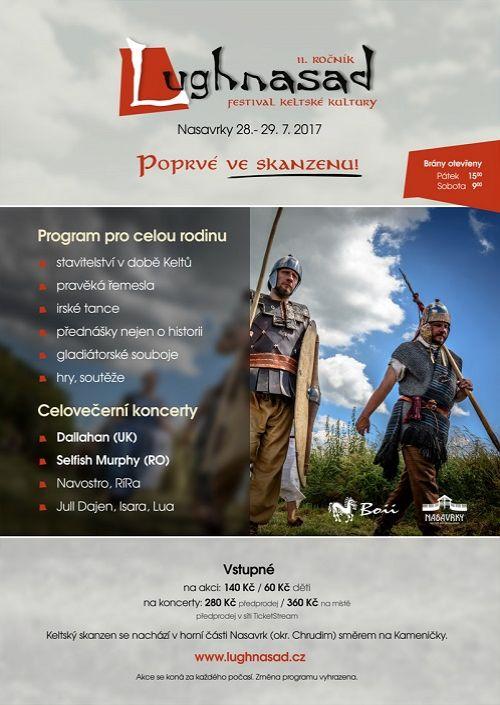 Festival keltské kultury Lughnasad 2017 plakatyzdarma.cz