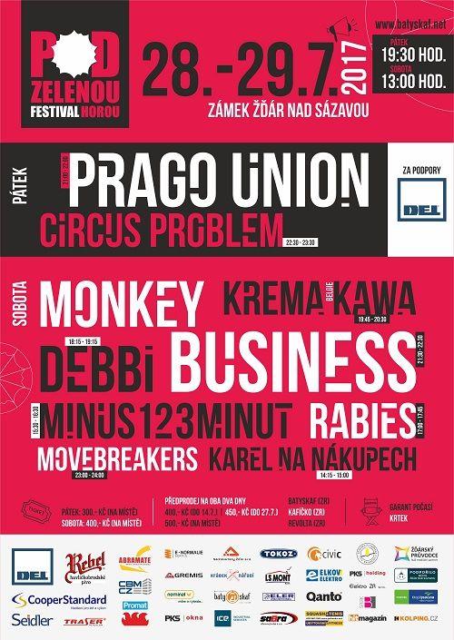 festival Pod zelenou horou plakatyzdarma.cz