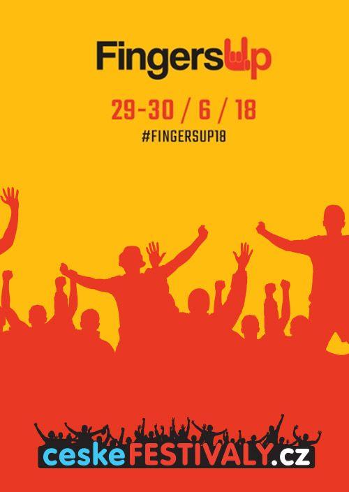Fingers Up 2018 plakatyzdarma.cz