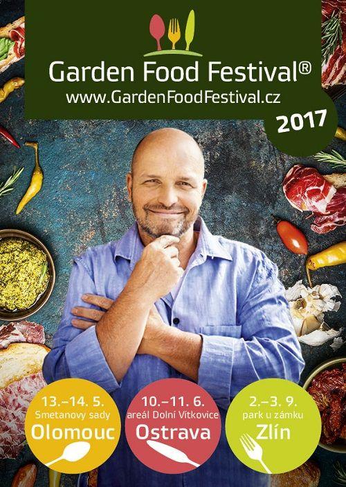 GARDEN FOOD FESTIVAL Zlín plakatyzdarma.cz