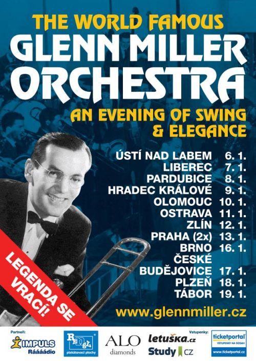 GLENN MILLER ORCHESTRA TOUR plakatyzdarma.cz