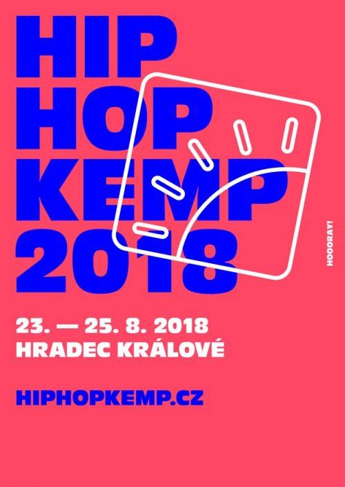 HIP HOP KEMP 2018 plakatyzdarma.cz
