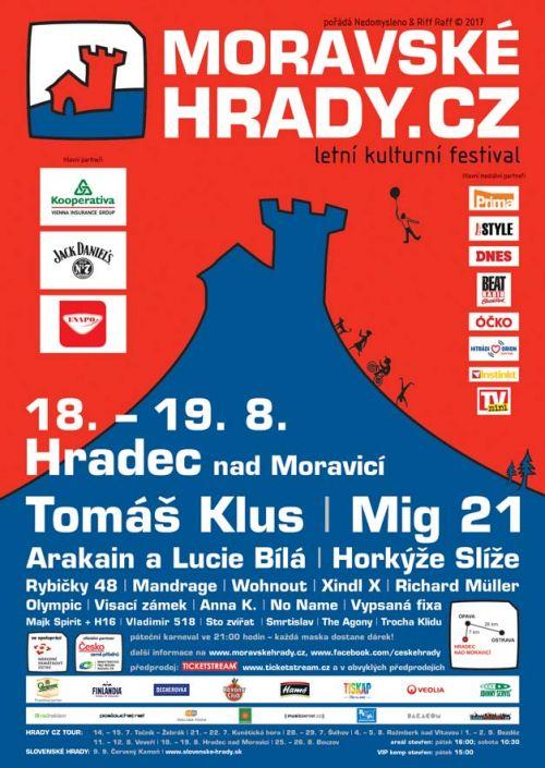HRADEC NAD MORAVICÍ HRADY CZ 2017 plakatyzdarma.cz