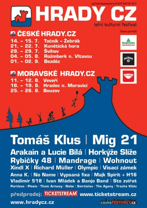 HRADY CZ 2017 plakatyzdarma.cz