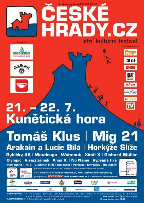 KUNĚTICKÁ HORA HRADY CZ 2017 plakatyzdarma.cz