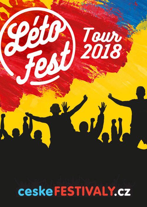 LÉTOFEST TOUR 2018 plakatyzdarma.cz