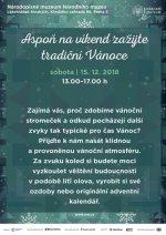 Aspoň na víkend zažijte tradiční Vánoce! - aaadeti.cz