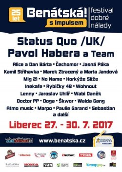 BENÁTSKÁ! s Impulsem - ceskefestivaly.cz