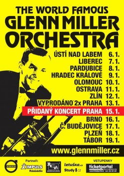 GLENN MILLER ORCHESTRA TOUR - ceskefestivaly.cz
