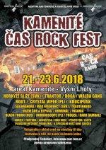 KAMENITÉ ČAS ROCK FEST 2018 - ceskefestivaly.cz