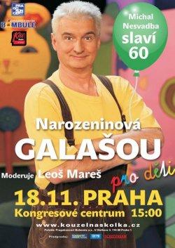 MICHAL NESVADBA - NAROZENINOVÁ GALAŠOU - aaadeti.cz