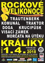 ROCKOVÉ VELIKONOCE 2018 - ceskefestivaly.cz