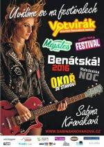 SABINA KŘOVÁKOVÁ NA FESTIVALECH - ceskefestivaly.cz