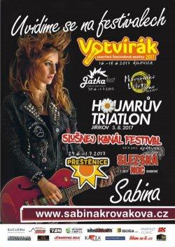 SABINA NA FESTIVALECH - ceskefestivaly.cz