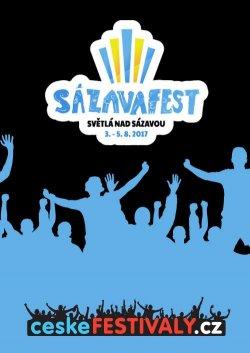 SÁZAVA FEST 2017 - ceskefestivaly.cz