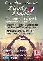 Z LÁSKY K HUDBĚ - KARVINÁ  - ceskefestivaly.cz