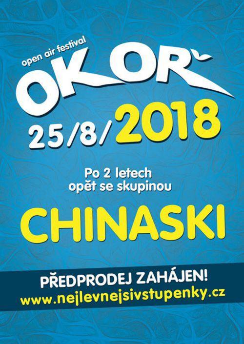 OKOŘ OPEN AIR FESTIVAL 2018 plakatyzdarma.cz