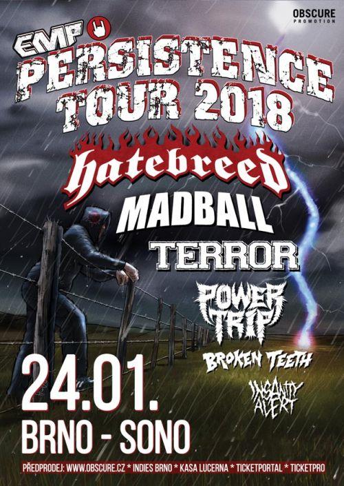 Persistence Tour 2018 plakatyzdarma.cz