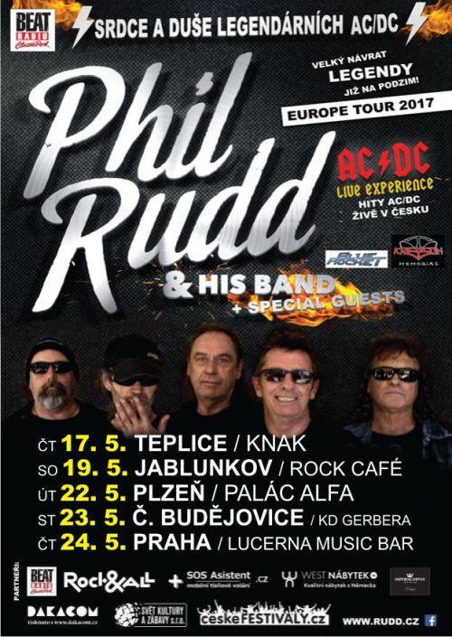 PHIL RUDD & HIS BAND plakatyzdarma.cz