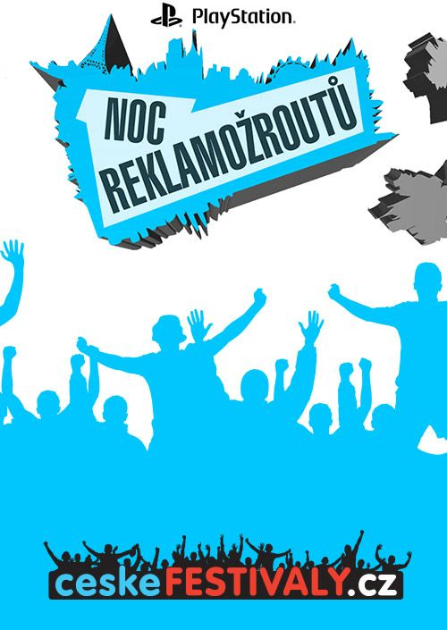 Playstation Noc Reklamožroutů 2018 plakatyzdarma.cz