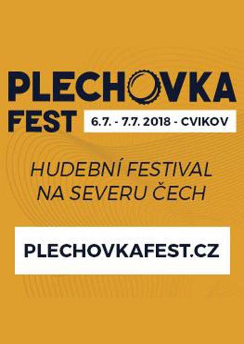 PLECHOVKA FEST 2018 plakatyzdarma.cz