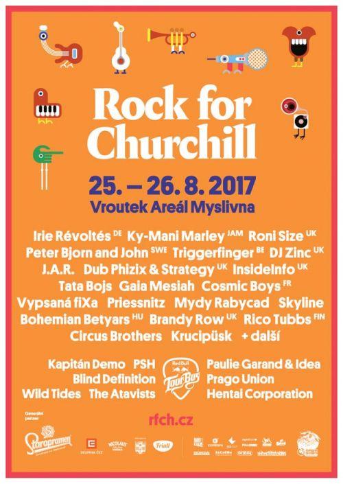 ROCK FOR CHURCHILL 2017 plakatyzdarma.cz