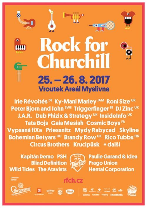 ROCK FOR CHURCHILL 2017 plakatyzdarma.cz