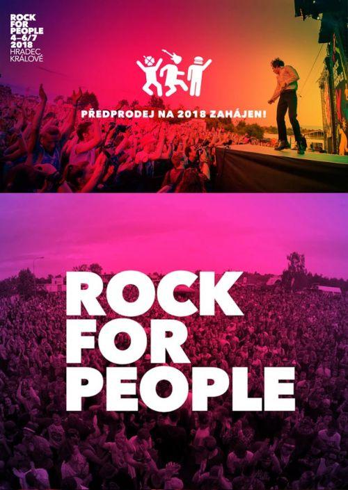 ROCK FOR PEOPLE 2018 plakatyzdarma.cz