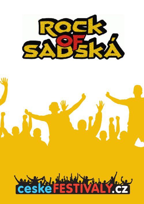 ROCK OF SADSKA 2018 plakatyzdarma.cz