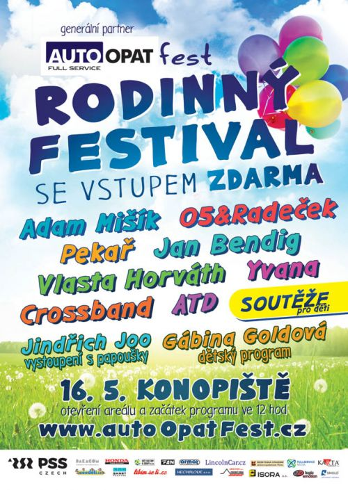 RODINNÝ FESTIVAL aaadeti.cz