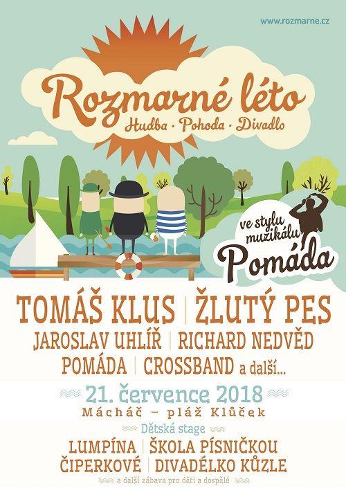 Rozmarné léto 2018 plakatyzdarma.cz