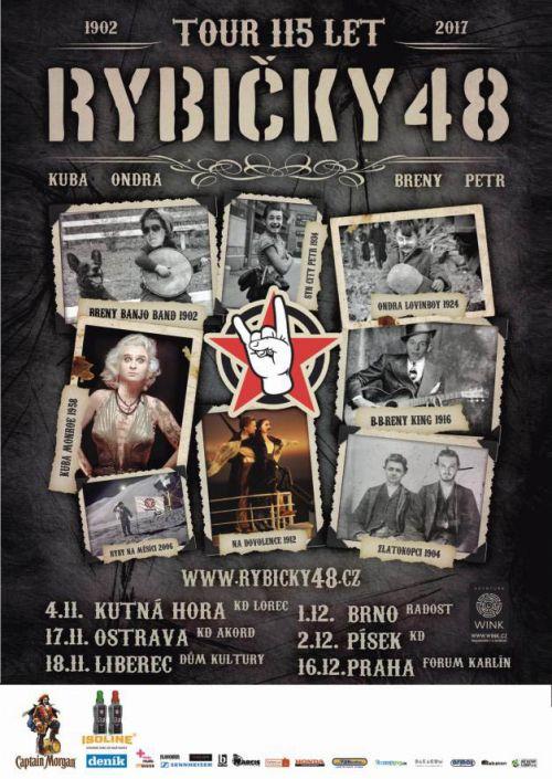 RYBIČKY 48 - TOUR 115 LET plakatyzdarma.cz