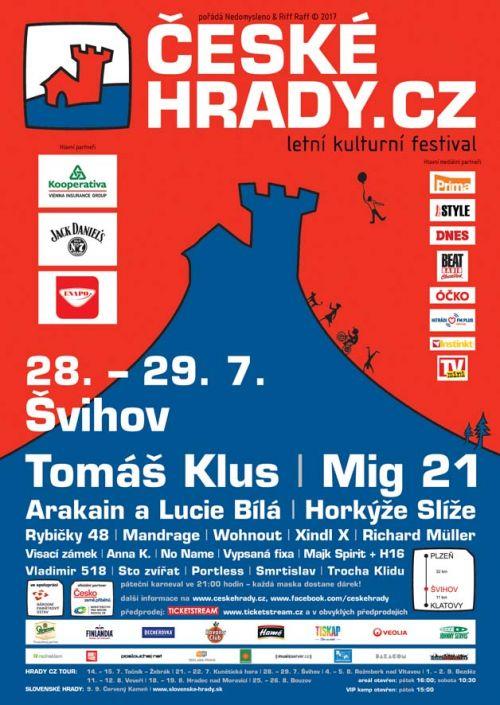 ŠVIHOV HRADY CZ 2017 plakatyzdarma.cz