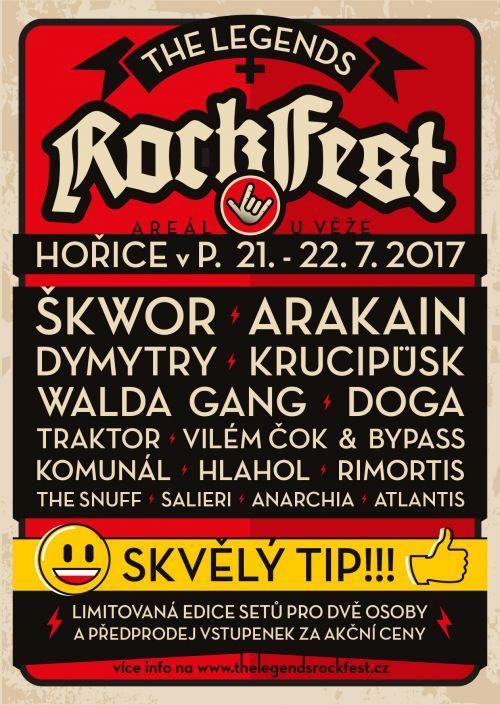 The Legends Rock Fest plakatyzdarma.cz