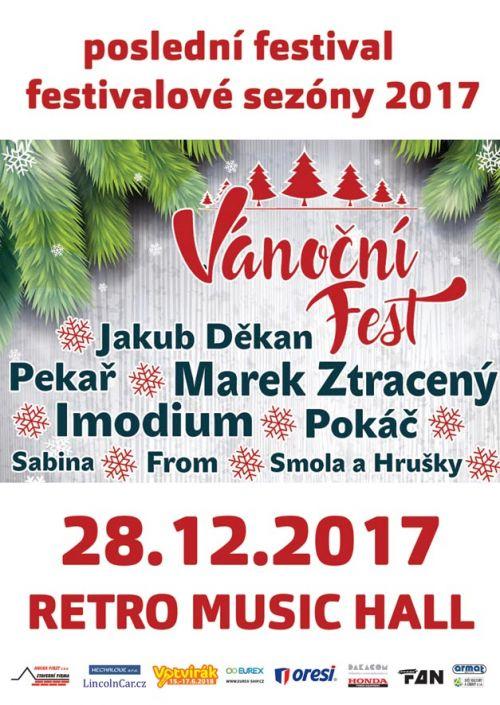 VÁNOČNÍ FEST  plakatyzdarma.cz