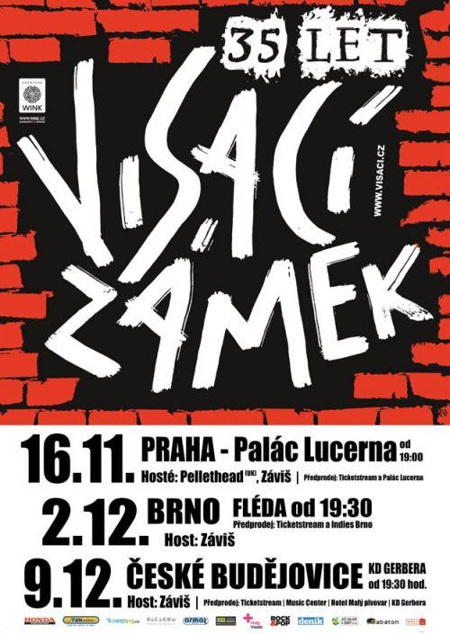 VISACÍ ZÁMEK - 35 LET TOUR plakatyzdarma.cz