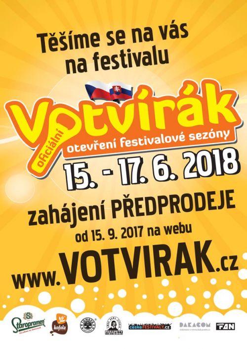 VOTVÍRÁK 2018 plakatyzdarma.cz