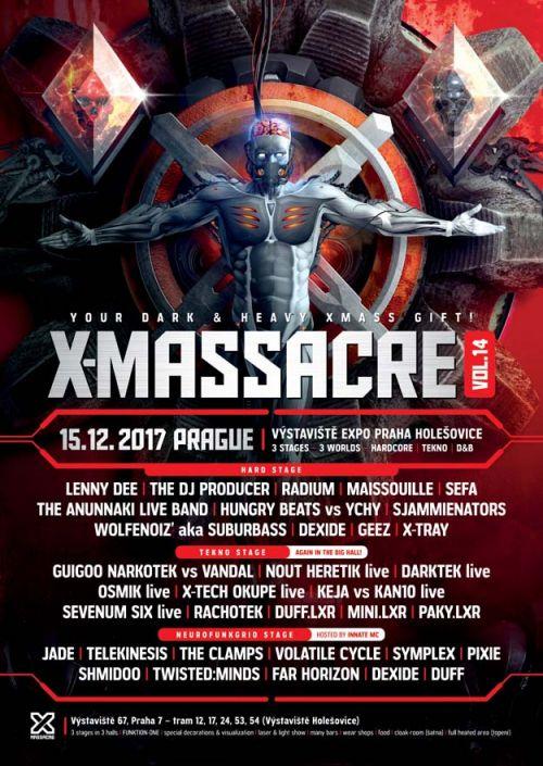 X-MASSACRE vol 14 plakatyzdarma.cz