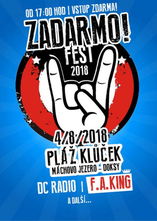 ZADARMOFEST 2018  plakatyzdarma.cz
